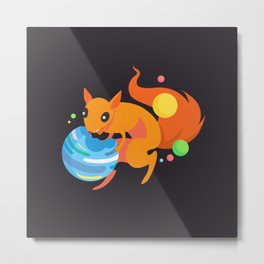 Eater of Worlds Squirrel of Doom Metal Print