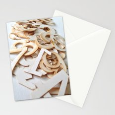 Random Numbers Stationery Cards