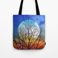 The moonwatcher Tote Bag