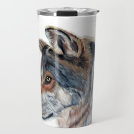 WOLF // STAY WILD Travel Mug