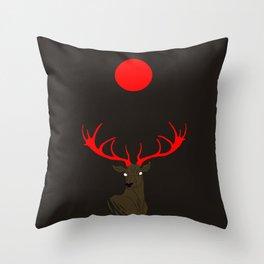 Abendrot Throw Pillow