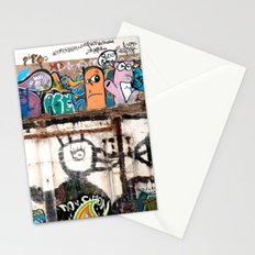 Graffiti strati Stationery Cards