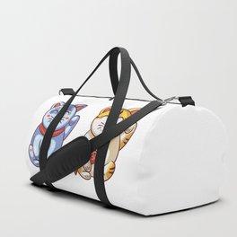 Lucky Cats Duffle Bag