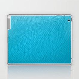 Light blue painted wood background Laptop & iPad Skin