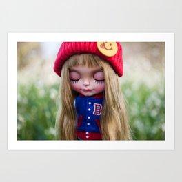 Erregiro Blythe doll Nicky Art Print