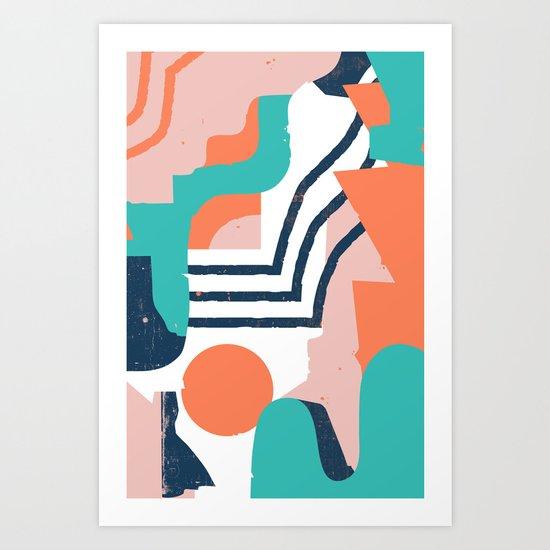 Smotth Senses Art Print