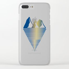 Mountain & Inlet Clear iPhone Case