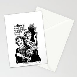 BURNS & ALLEN Stationery Cards