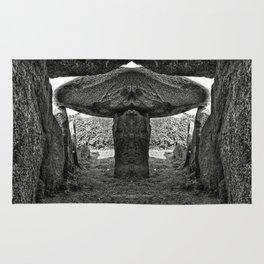 Alien Dolmen Rug