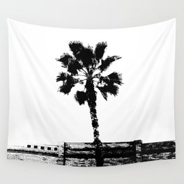 Black & White Palm Wall Tapestry