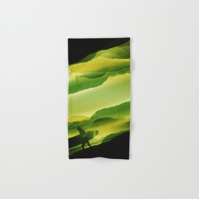 Plastic Surfing Hand & Bath Towel