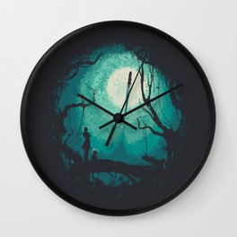 After Cosmic War Wall Clock