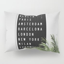 Dream Destinations after the Shutdown Pillow Sham