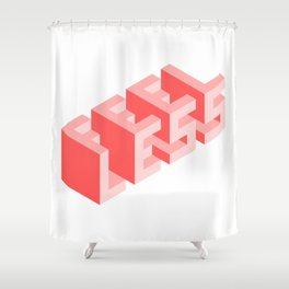 Times are tough Shower Curtain