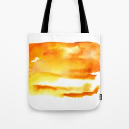 February - Orange & Yellow Tote Bag