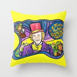 The Dali Wonka Throw Pillow
