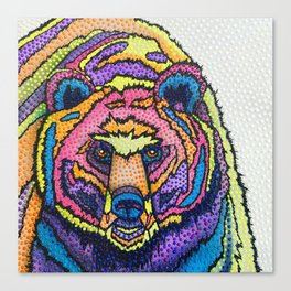 I Can't Bear it! Canvas Print