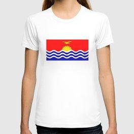 Kiribati country flag T-shirt
