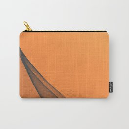 Zen Beach Orange Carry-All Pouch
