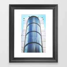 Vertical Rise Framed Art Print