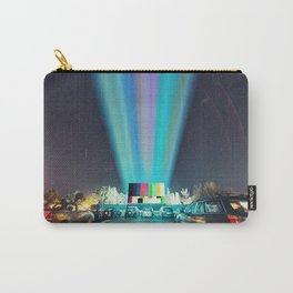 Drive In Test Pattern Carry-All Pouch