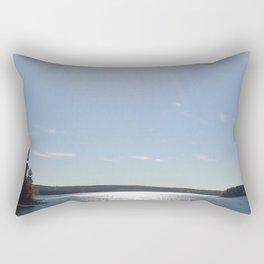 Scituate Reservoir, Rhode Island Photograph #5 by Jeanpaul Ferro Rectangular Pillow