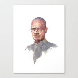 Breaking Bad (Walter White) Canvas Print