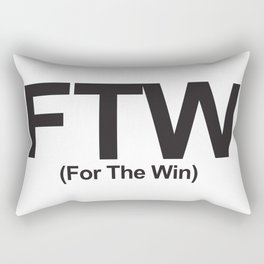 FTW (For The Win) Rectangular Pillow