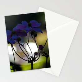Concept flora : Autumn anemone Stationery Cards