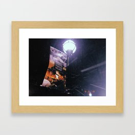 always leading Framed Art Print