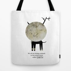 Strange Animal Tote Bag
