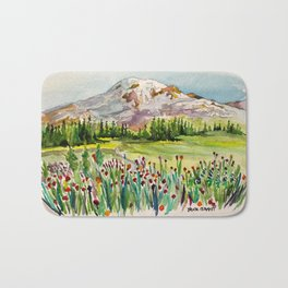 Mount Rainier National Park Bath Mat