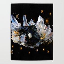 Star Aura Quartz Poster