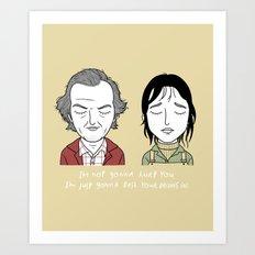 W & J Art Print