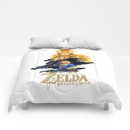 Zelda Breath of the Wild - The Silent Princess Comforters