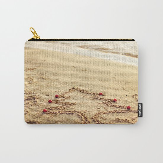 Merry Christmas! - Christmas at the beach Carry-All Pouch