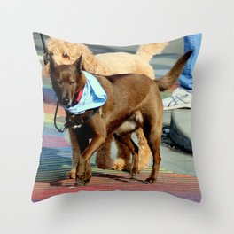 No Ifs, Ands, Or Butts! Throw Pillow