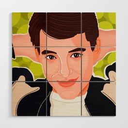 Ferris Bueller Wood Wall Art