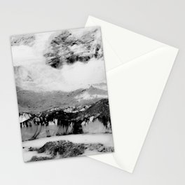 Wanderlust And Blurred Vision Before Summit Stationery Cards