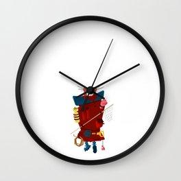 Hiker Wall Clock