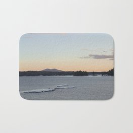 Lake and mountain Bath Mat