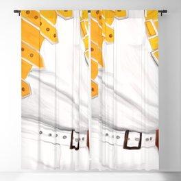 Legend, music painting Blackout Curtain