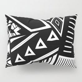 B&W Tribal Medley Pillow Sham