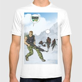 Tough Guy in action T-shirt