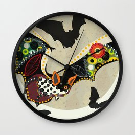 The arrival of the vampires 2 Wall Clock