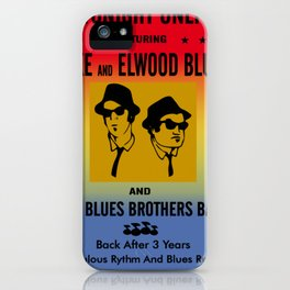 Mission From God Blues Brothers iPhone Case