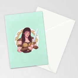 xena warrior princess Stationery Cards