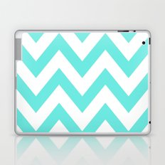 TEAL CHEVRON Laptop & iPad Skin