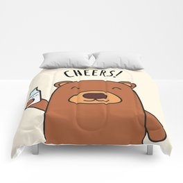 Cheers, Bear! Comforters