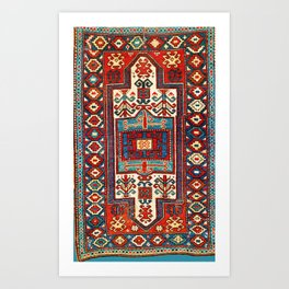 Karabagh South Caucasus Rug Print Art Print
